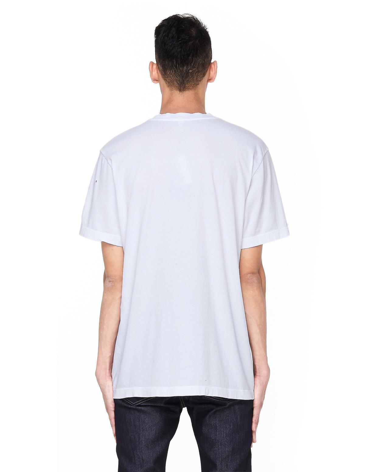 c8ee9982aee James Perse Cotton V-Neck T-Shirt - White   Garmentory