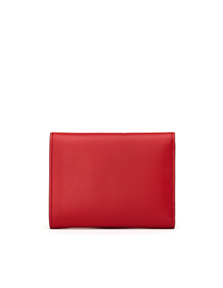 Undercover Printed Leather Wallet - Red