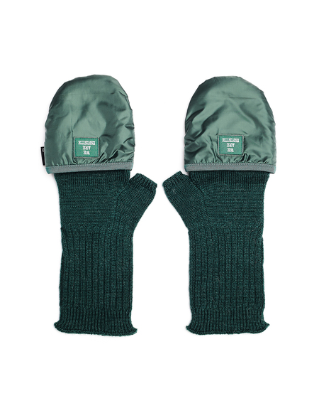 Undercover We Are Infinite Mittens - Green