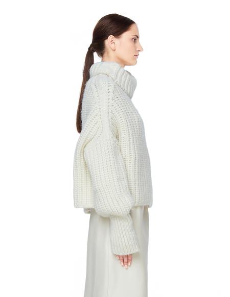 Maison Flaneur Alpaca Sweater - White