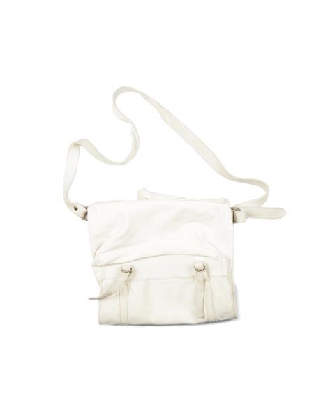 Guidi Leather Bag - White