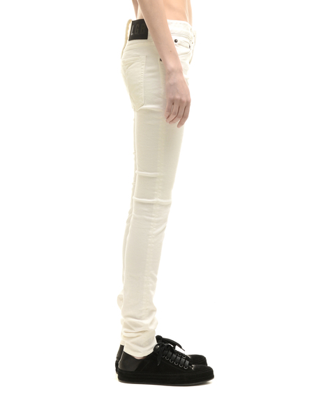 L.G.B. Cotton Jeans - White