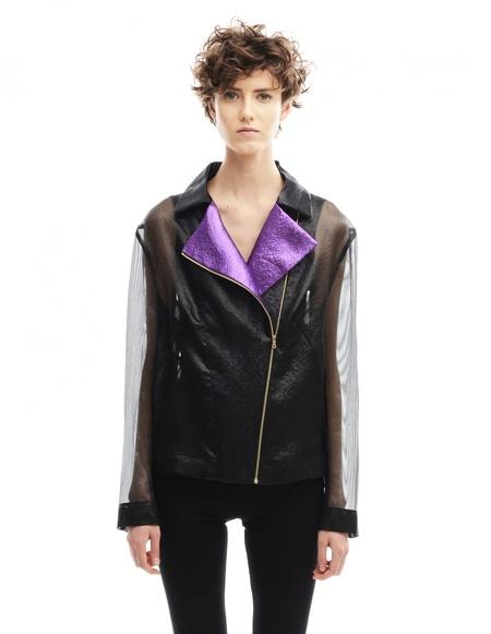 Walk of Shame Polyester Jacket - Black