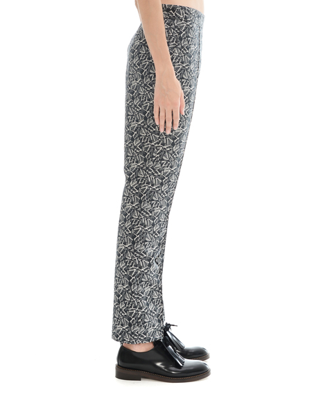 Marni Cotton And Silk Trousers
