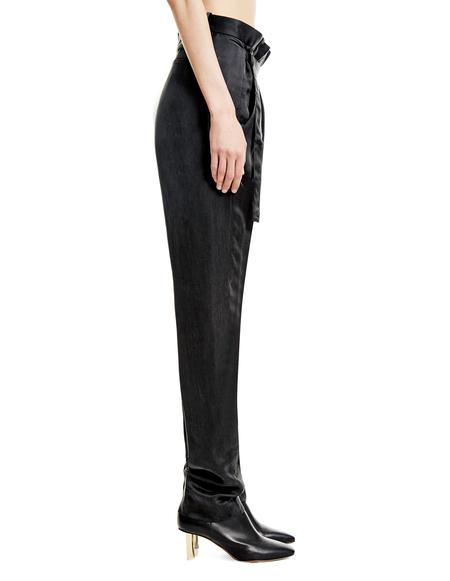 Ann Demeulemeester Cupro Trousers
