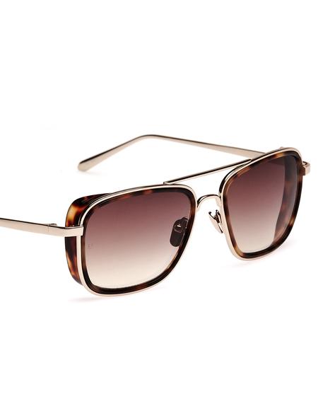 Linda Farrow Luxe Sunglasses - Brown