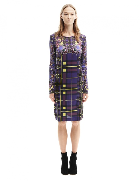 Mary Katrantzou Silk Dress - Printed