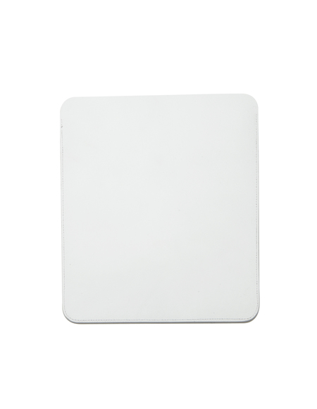 Isaac Reina Leather Ipad Case - White