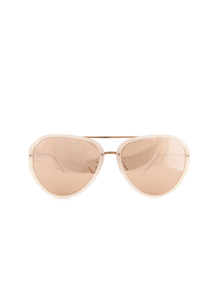 Linda Farrow Luxe Sunglasses - Pink
