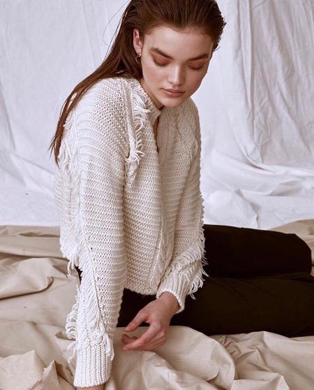Line the Label Petra Sweater - Ivory