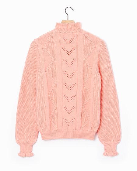 Molli Flo Sweater - Flamingo