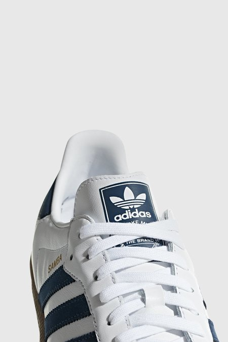 Adidas Originals Samba OG - White/Navy/White