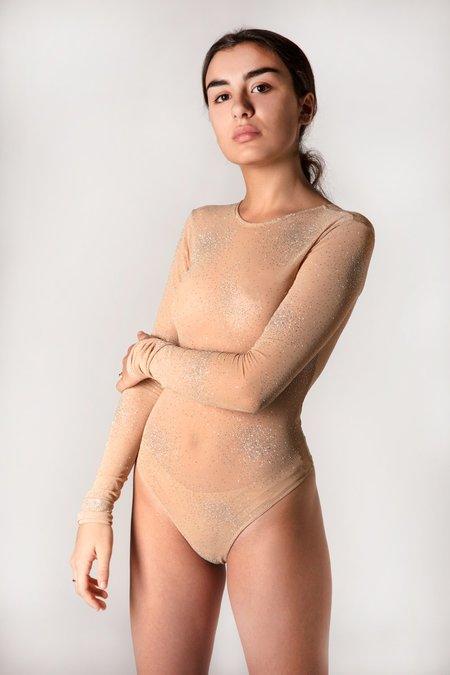 Fantabody Erika Tulle Strass- Nude