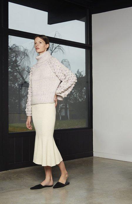 ELEVEN SIX Maya Sweater - Lilac Tweed