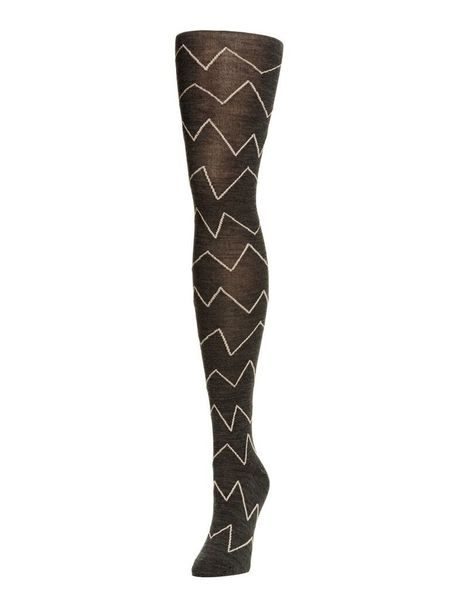 Hansel From Basel Vine Tights - CHARCOAL