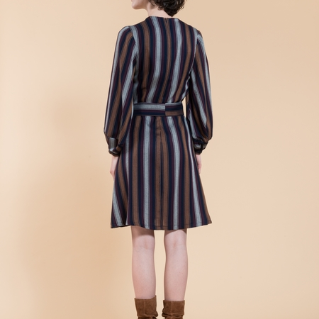 Jennifer Glasgow Roberta Dress - stripe
