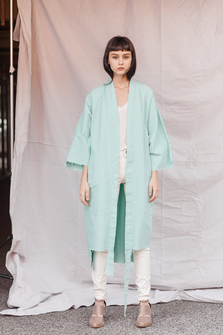 Kate Towers lab coat - POOL BLUE