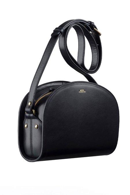 A.P.C. Half-moon Bag - Black