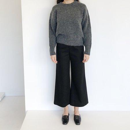 Sayaka Davis Mohair Sweater - Charcoal