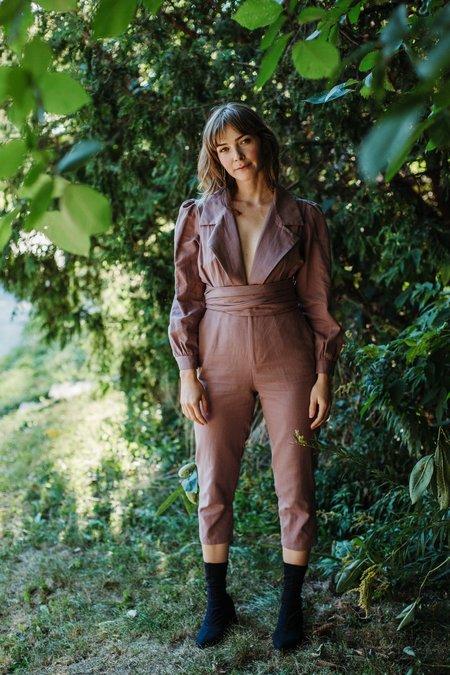 Samantha Pleet Divination Jumpsuit - Lilac