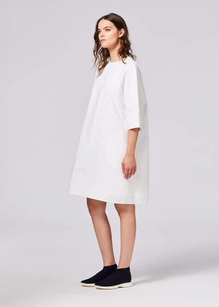 Shosh NYC Poet Dress - WHITE