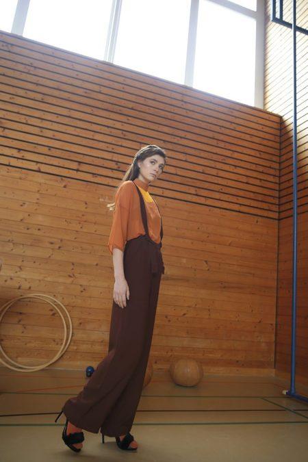 Claudia Nabholz Silk Blouse - Orange