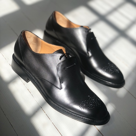 Robert Clergerie Rary derby - Black