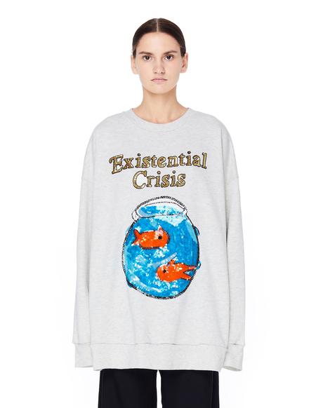 Ashish Sequined Sweatshirt - Grey