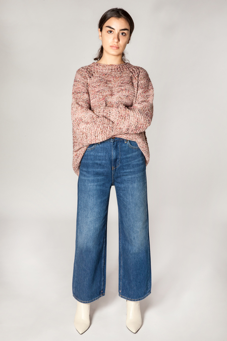 Maison Scotch Seasonal Leg Cropped Denim - Indigo