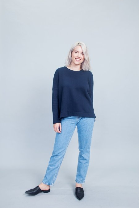 Jennifer Glasgow Dionne Sweater - Navy