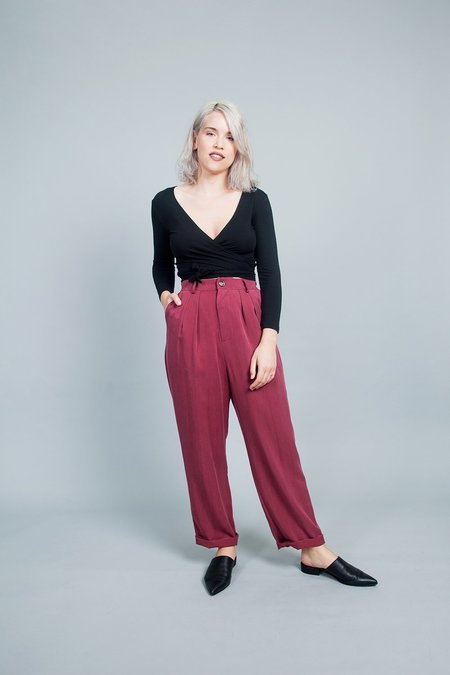 Jennifer Glasgow Lauper Pants - Red