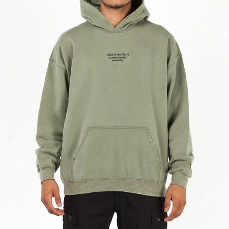 Liberaiders Embroidered Pullover Hoodie - Olive
