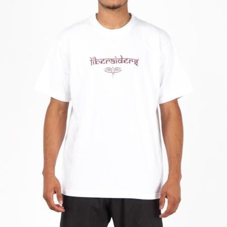 Liberaiders Nepal Font T-Shirt - White