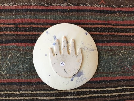 Ariel Clute Medium Peace Splatter Plate