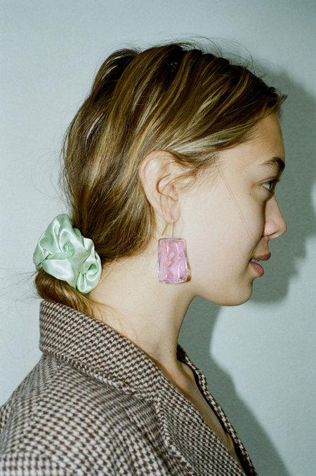 Maryam Nassir Zadeh Ice Cube Earrings - Orchid