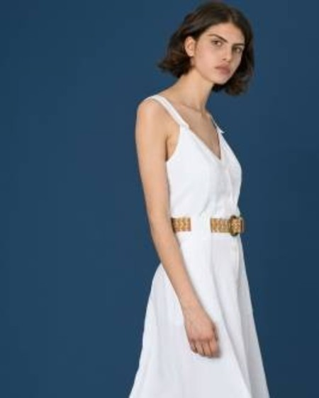 Sessun Leones Top - White