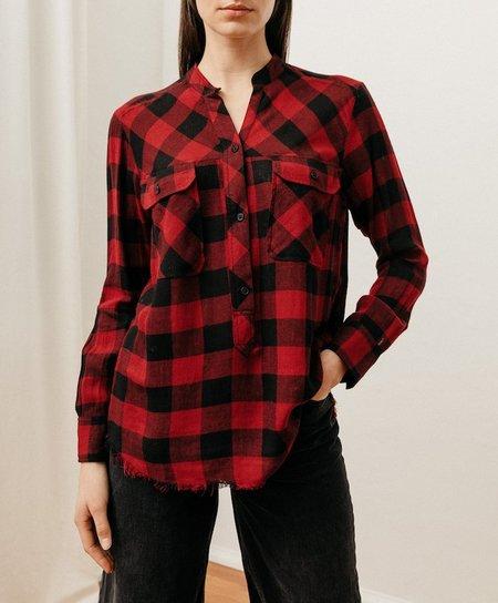 Rails Redding Shirt - Sanguine Black Check