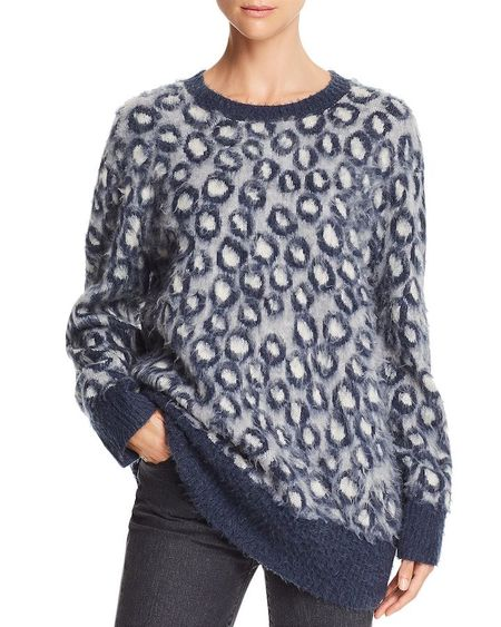 Current/Elliot Cali Sweater - Leopard
