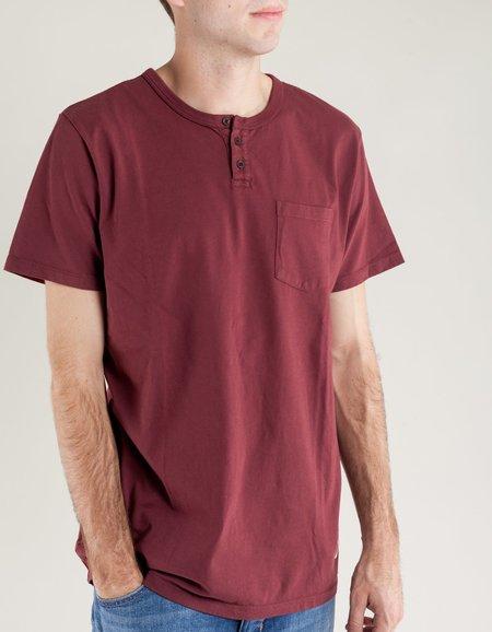 Katin Mesa Pocket Henley - Dark Red
