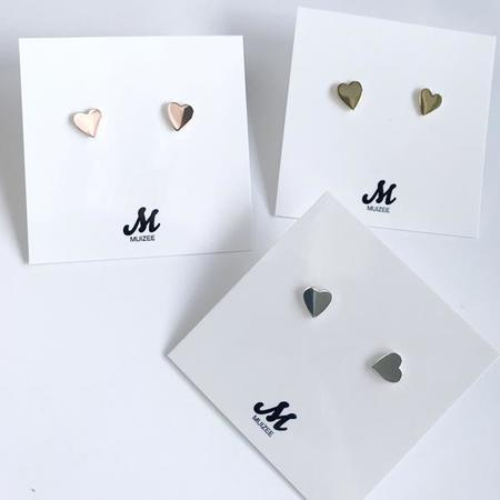 Muizee Mini Heart Earrings