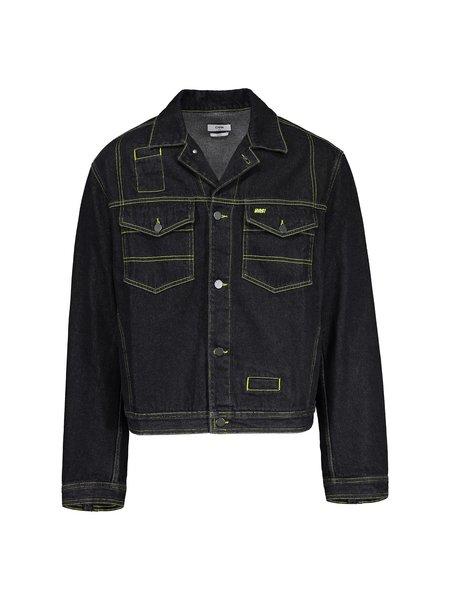 Cmmn Swdn Brandon Denim Jacket - Black