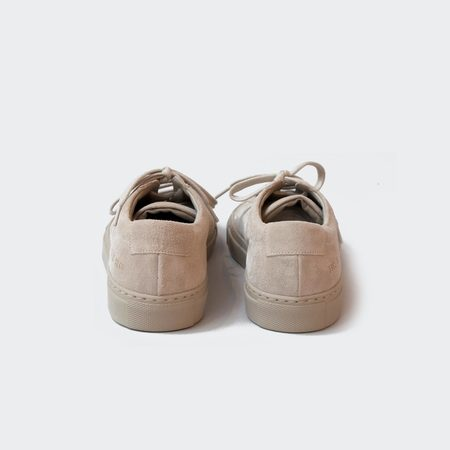 Woman by Common Projects Original Achilles Low Suede - Taupe