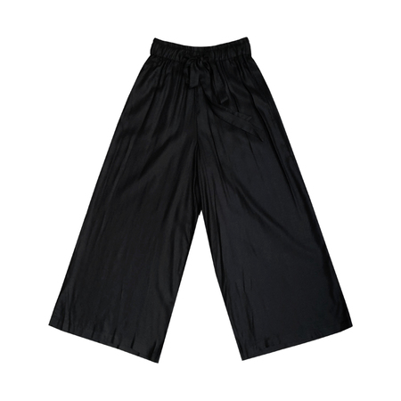 Ali Golden DRAWSTRING PANT - BLACK