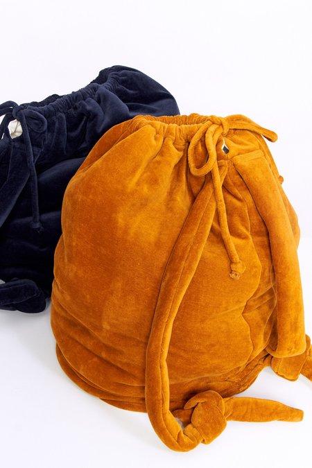 Baserange Velour Houston Bag - Theta Brown