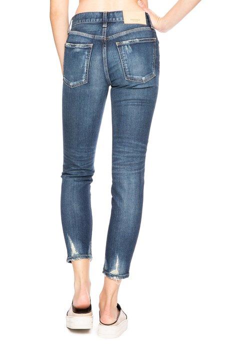 Moussy Vintage Comfort Velma Skinny Jean - Dark Blue