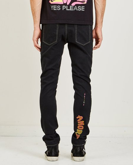 POLITE DENIM JEAN - BLACK