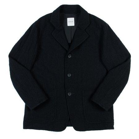 Sage de Cret Wool Linen Jacket - Black