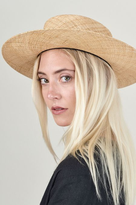 Janessa Leone Jade Straw Hat