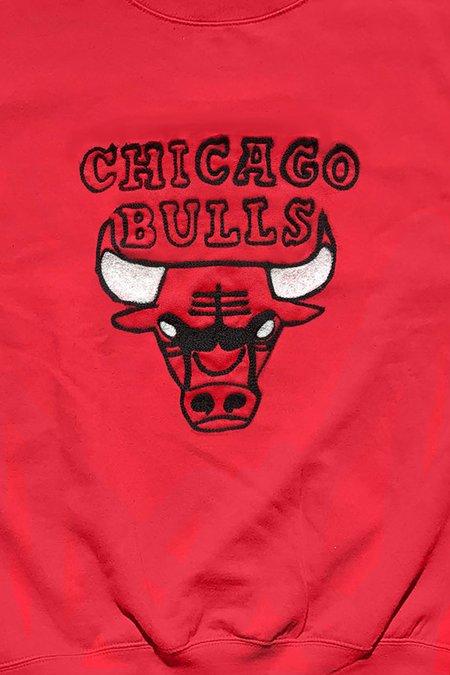 Unisex HUNK Chicago Bulls Sweatshirt - red