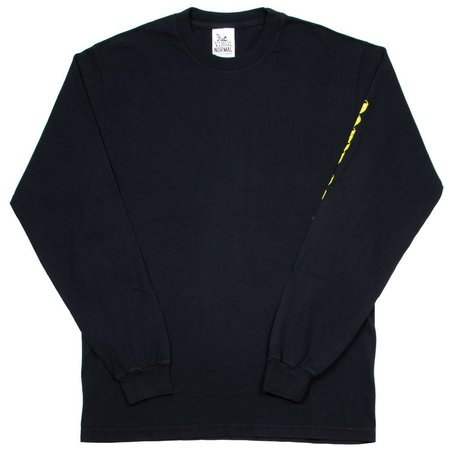 Virgil Normal Tape Minded LS T-shirt - Black